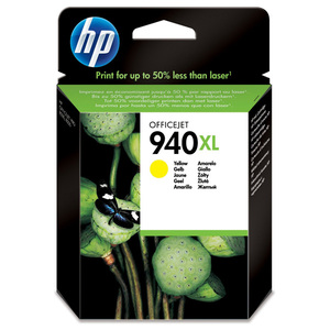 Cartus HP C4909AE INK 940XL, galben