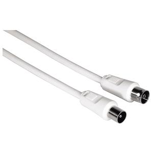 Cablu antena coaxial HAMA 11902, 5m, alb