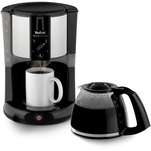 Cafetiera TEFAL Subito Mug CM290838, 1.25l, 1000W, negru