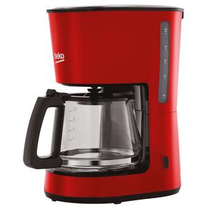 Cafetiera BEKO CFM4350R, 1.25l, 900W, rosu