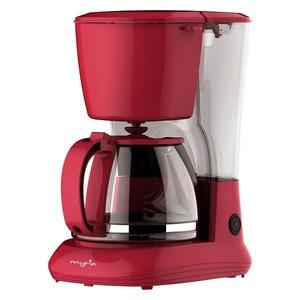 Cafetiera MYRIA MY4157RD, 1.25l, 750W, rosu