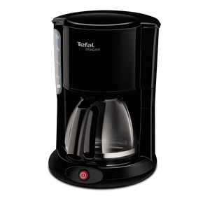 Cafetiera TEFAL Principio CM260812, 1.25l, 1000W, negru