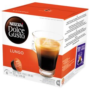 Capsule cafea NESCAFE Dolce Gusto Caffe Lungo, 16 capsule, 112g