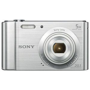 Camera foto digitala SONY DSC-W800S, 20 Mp, 5x, argintiu