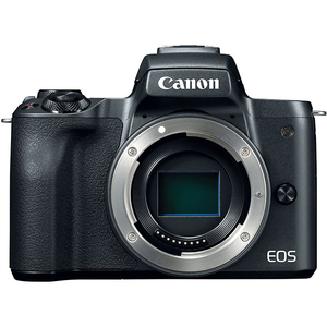 Camera foto digitala mirrorless CANON EOS M50 BODY, 24.1Mp, Filmare 4K, negru