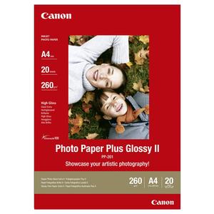 Hartie foto CANON Glossy PP-201, A4, 20 coli