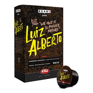Capsule cafea BEANZ Luiz Alberto, 16 buc
