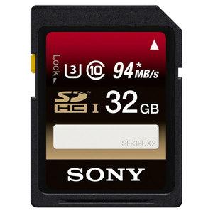 Card de memorie SDHC 32GB SONY SF32UX2, R94Mb/s, W70Mb/s