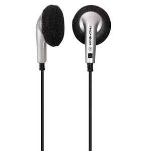 Casti THOMSON Micro HED54N, Cu Fir, In-Ear, argintiu