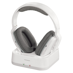 Casti THOMSON WHP3311W, Bluetooth, On-ear, alb