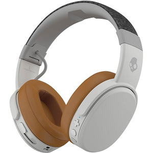 Casti SKULLCANDY Crusher S6CRW-K590, Bluetooth, On-Ear, Microfon, gri