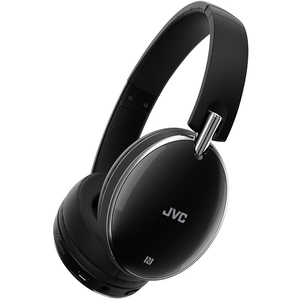 Casti JVC HA-S90BN-B-E, Bluetooth, NFC, On-Ear, Microfon, Noise Cancelling, negru