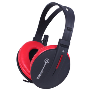 Casti Gaming MARVO H8312, stereo, 3.5mm, negru-rosu