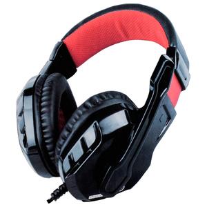 Casti Gaming MARVO H8329, stereo, 3.5mm, negru-rosu