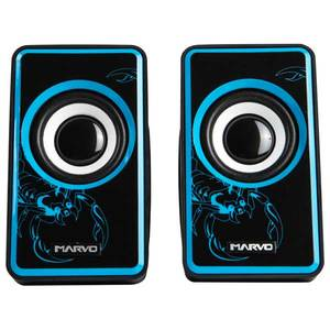 Boxe gaming MARVO SG 201, negru-albastru