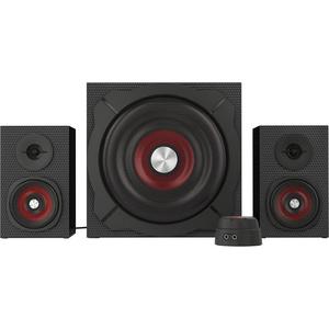 Boxe gaming NATEC Genesis Helium 600, 2.1 surround, negru - rosu