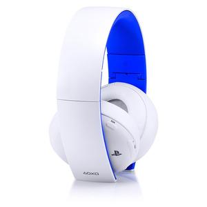 Casti Gaming Wireless SONY Gold PS4, 7.1 surround, USB, alb