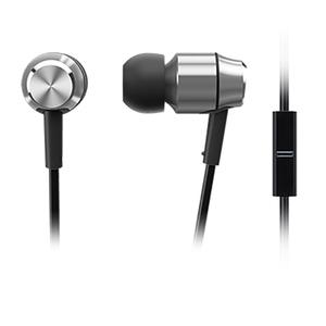 Casti PANASONIC RP-HDE5ME-S, microfon, in ear, cu fir, argintiu