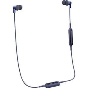 Casti PANASONIC RP-NJ300BE-A, microfon, in ear, wireless, albastru