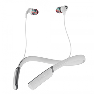 Casti SKULLCANDY Method Swirl Cool S2CDWJ-520, Bluetooth, In-Ear, Microfon, gri