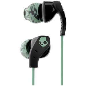 Casti SKULLCANDY Method Swirl S2CDY-K602, in ear, microfon, negru-verde