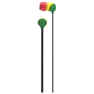 Casti SKULLCANDY Jib S2DUDZ-058, Cu Fir, In-Ear, rasta