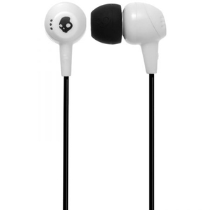 Casti SKULLCANDY Jib S2DUDZ-072, Cu Fir, In-Ear, alb
