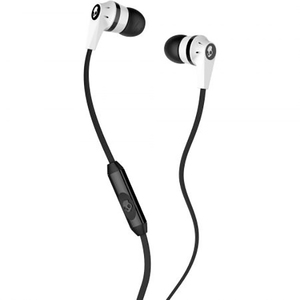 Casti SKULLCANDY INK'D S2IKFY-074, Cu Fir, In-Ear, Microfon, alb