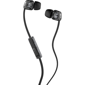 Casti SKULLCANDY Smokin'Buds 2 S2PGFY-003, Cu Fir, In-Ear, Microfon, negru