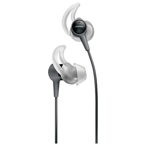 Casti in-ear cu microfon BOSE SoundTrue Ultra InEar, compatibile Android, negru