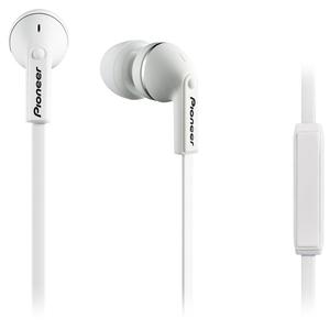 Casti PIONEER SE-CL712T-W, Cu Fir, In-Ear, Microfon, alb