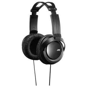Casti JVC HA-RX330, Cu Fir, On-Ear, negru