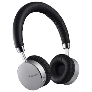 Casti PIONEER SE-MJ561BT-S, Bluetooth, NFC, On-Ear, Microfon, negru