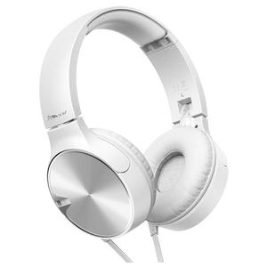 Casti PIONEER SE-MJ722T-W, microfon, on ear, cu fir, alb