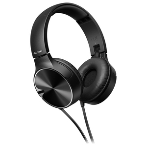 Casti PIONEER SE-MJ722T, Cu Fir, On-Ear, Microfon, negru