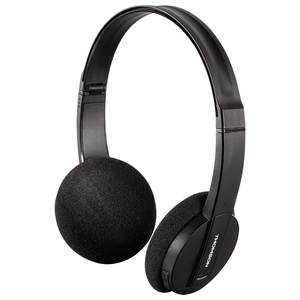 Casti THOMSON WHP-6005BT, Bluetooth, On-Ear, Microfon, negru