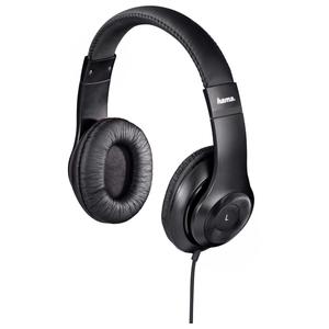 Casti HAMA HK-6104, Cu Fir, On-Ear, negru