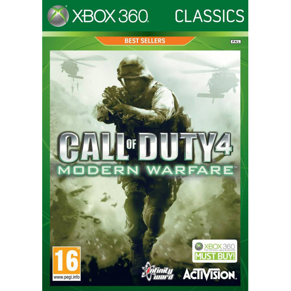 Call of Duty 4: Modern Warfare Classics Xbox 360