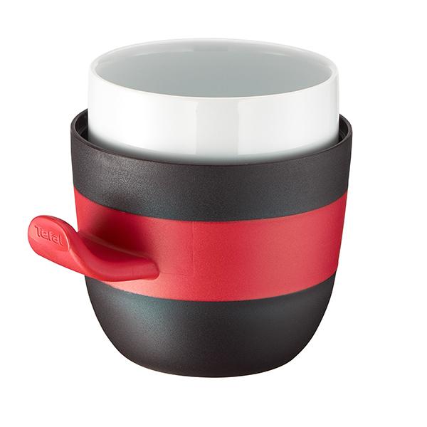 Cana ceramica cu capac TEFAL Quick K2050224, 0.5l