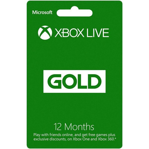 Card Xbox Live Gold 12 luni Xbox 360 / Xbox One
