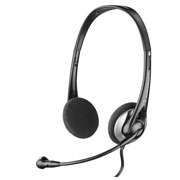 Casti PC PLANTRONICS Audio 326, 3.5mm, negru