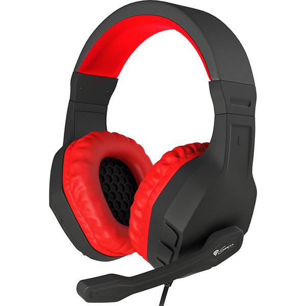Casti gaming NATEC Genesis Argon 200, Red