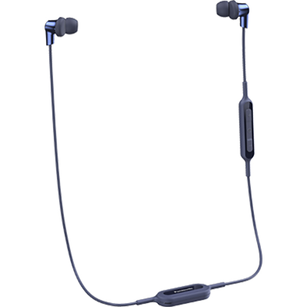 Casti PANASONIC RP-NJ300BE-A, microfon, in ear, wireless, albastru