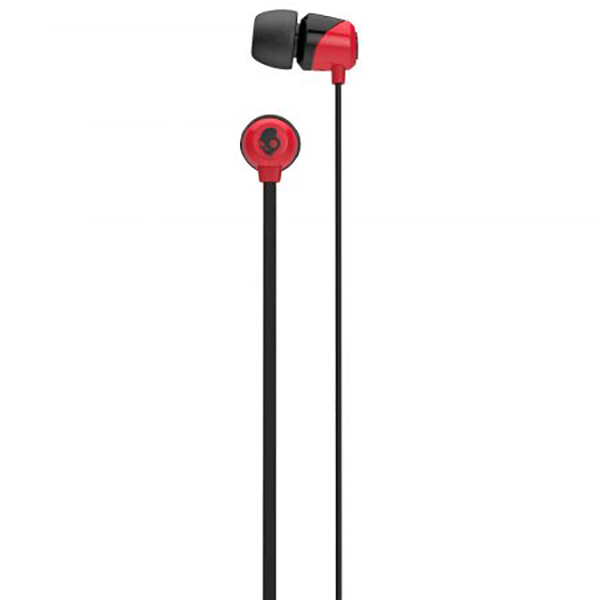 Casti SKULLCANDY Jib S2DUHZ-335, Cu Fir, In-Ear, negru-rosu