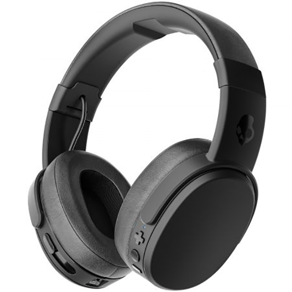 Casti on-ear SKULLCANDY Crusher Wireless S6CRWK-591, Black Coral