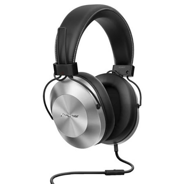Casti PIONEER SE-MS5T-S, Cu Fir, On-Ear, Microfon, argintiu