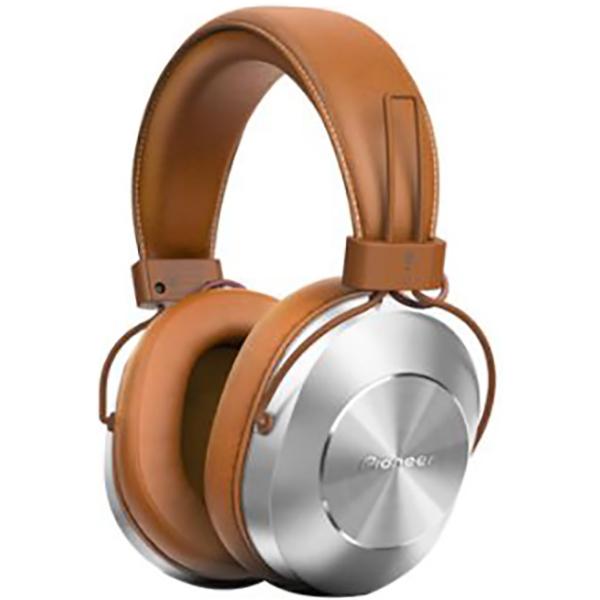 Casti PIONEER SE-MS7T-T, Bluetooth, On-Ear, Microfon, maro