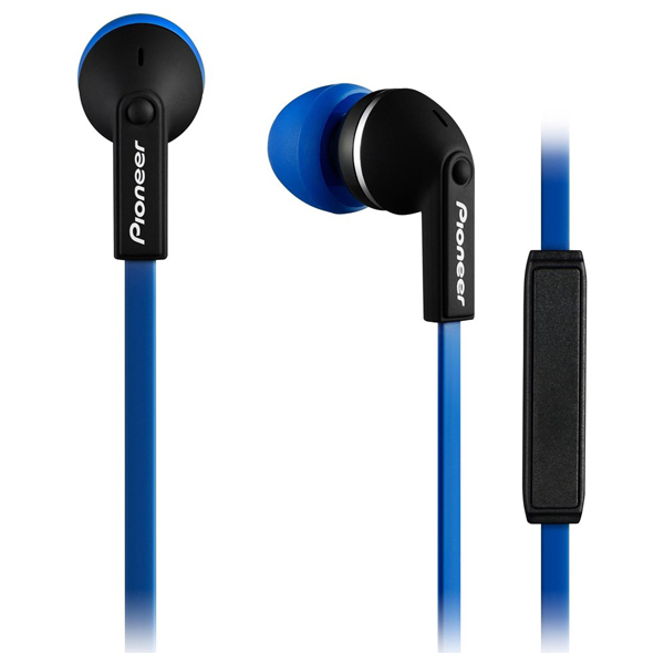 Casti in-ear cu microfon PIONEER SE-CL712T-L, albastru