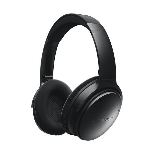 Casti on-ear cu microfon Bluetooth BOSE Quiet Comfort 35, Noise Cancelling, negru
