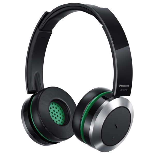 Casti PANASONIC RP-BTD10E-K, Bluetooth, NFC, On-Ear, Microfon, negru